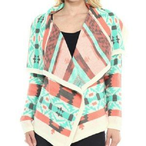 Moon Collection Tribal Knit Cardigan